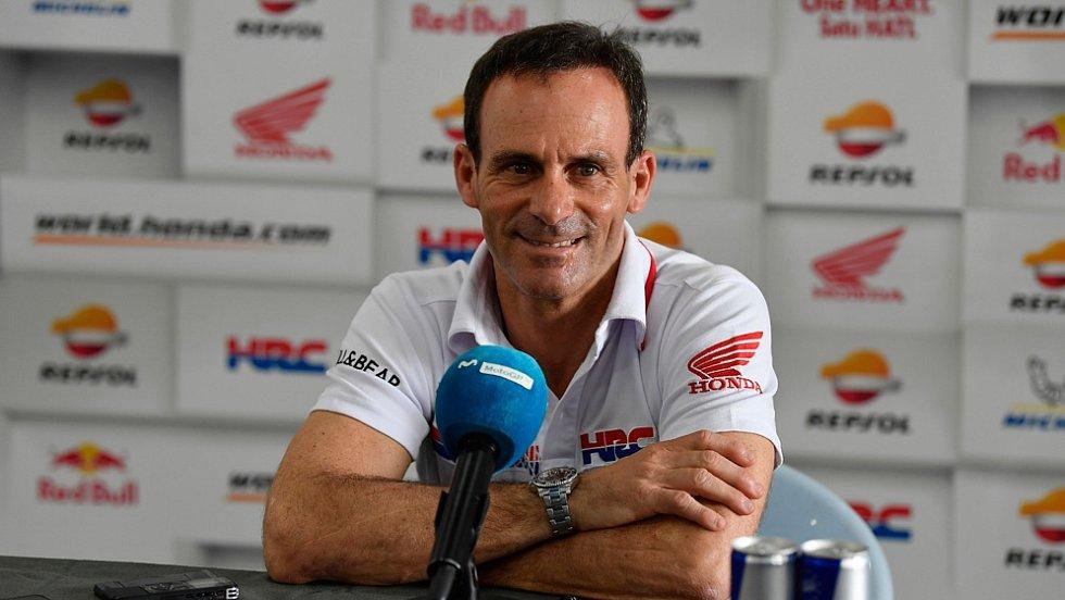 Alberto Puig, šéf týmu Repsol Honda v Moto GP.