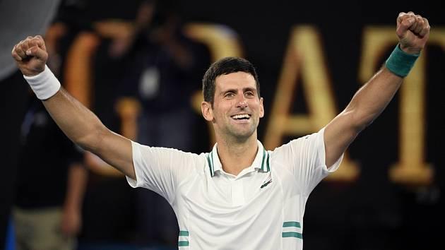 Novak Djokovič po triumfu na Australian Open
