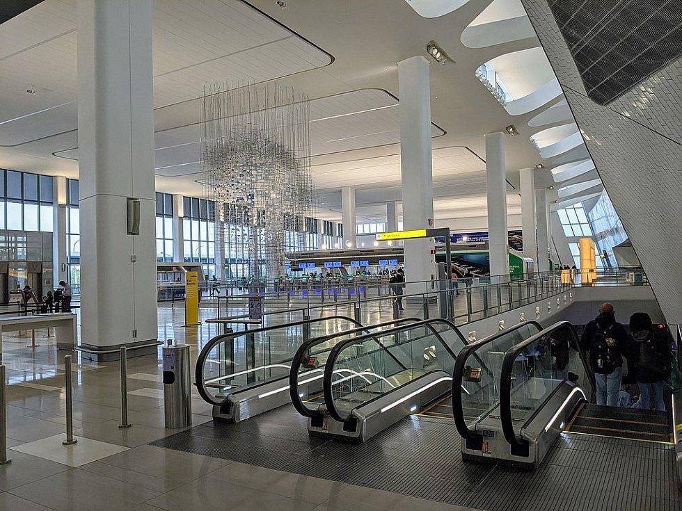Nový terminál letiště La Guardia