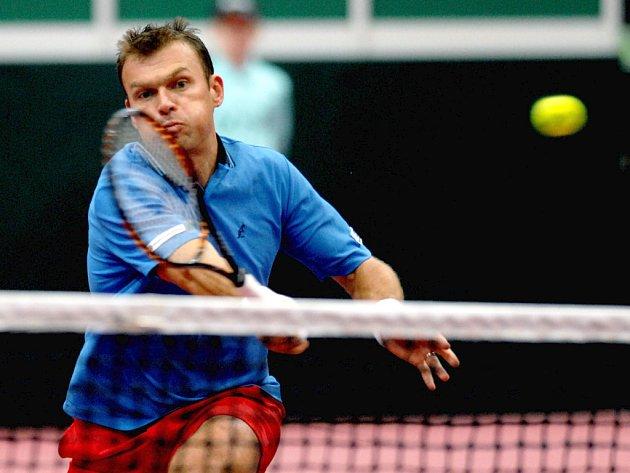 Pavel Vízner sice musel svůj zápas s Bemelmansem skrečovat, na postupu Česka do čtvrtfinále Davisova poháru to ale nic nezměnilo.
