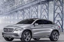 Mercedes-Benz Concept Coupé SUV.