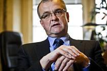 Předseda poslaneckého klubu TOP 09 Miroslav Kalousek.