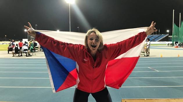 Bronzová medailistka z MS Martina Šimonová.