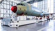 Výroba A320neo v závodě Airbusu v Hamburku.