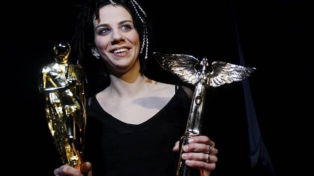Aneta Langerová získala cenu za nejlepší zpěvačku a osobnost roku.