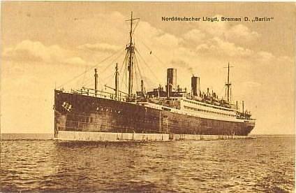 Parník Berlin III kolem roku 1925
