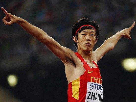 Čínský výškař Čang byl po bitvě spokojený i se stříbrem