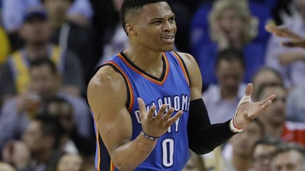 Russell Westbrook z Oklahomy.