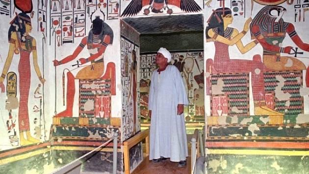 Hrobka Nefertari, manželky egyptského panovníka Ramesse II. v jihoegyptském Luxoru.