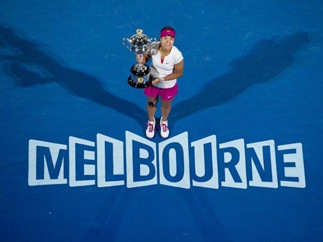 Vítězka Australian Open Li Na.