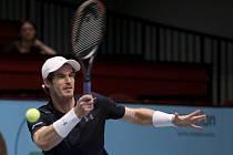 Andy Murray na turnaji ve Vídni.