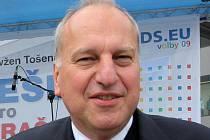 Europoslanec ODS Evžen Tošenovský.
