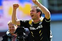 Frank Lampard zajistl gólem Chelsea Ligu mistrů.