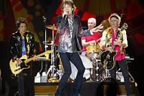 Britská skupina Rolling Stones odehrála v neděli večer svůj první koncert v Peru.