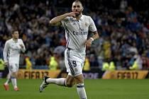 O první gól Realu se postaral Karim Benzema