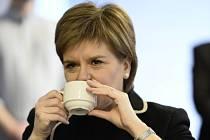 Skotská regionální premiérka Nicola Sturgeonová.