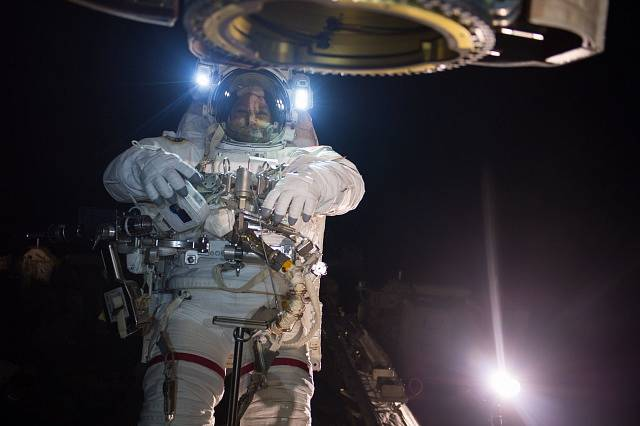 Pobyt ve vesmíru - ilustrační foto