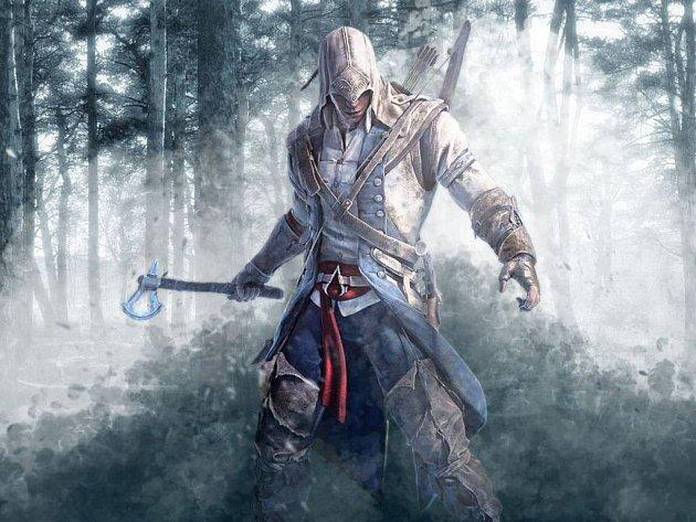 Počítačová hra Assassin´s Creed 3.