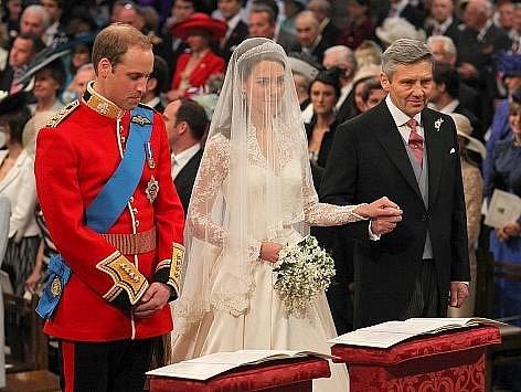 Princ William a Kate Middletonová si řekli své ano.