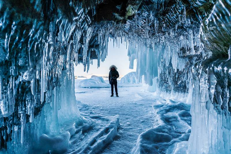 Věčný led na Sibiři