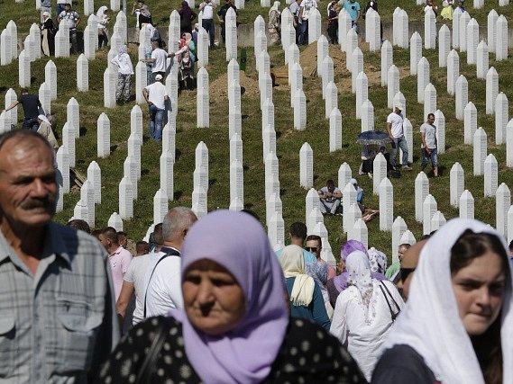 Připomenutí masakru v Srebrenici
