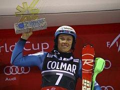 Norský lyžař Henrik Kristoffersen.