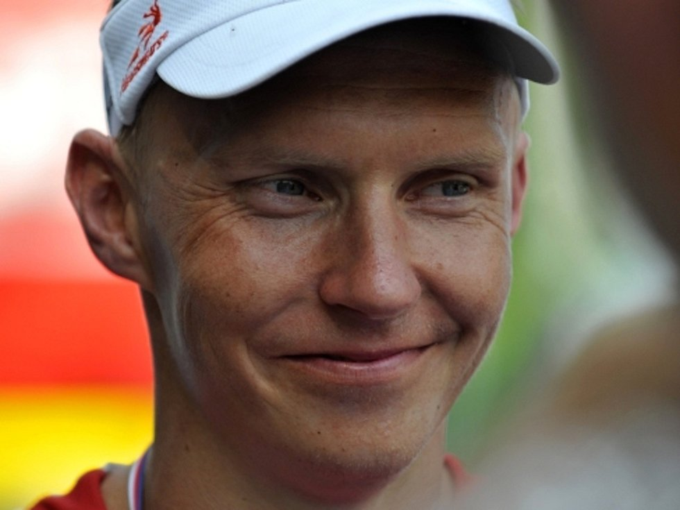 Triatlonista Petr Vabroušek.