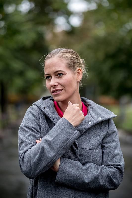 Zuzana Kajnarová Říčařová poskytla 25. září v Praze rozhovor Deníku.