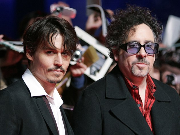Johny Depp a Tim Burton