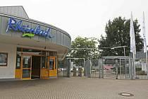 Koupaliště Rhinebath v německém Düsseldorfu