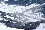Areál SkiWelt Wilder Kaiser-Brixental v Rakousku
