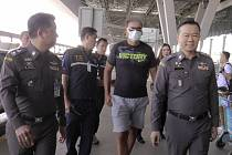 Thajská policie deportovala Čecha Zdeňka Pfeifera.