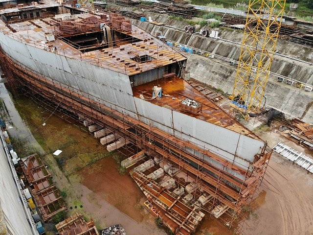 Na moře by měla vyplout věrná replika Titaniku.