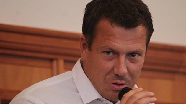 Kandidát na post primátora Opavy Tomáš Navrátil (ANO 2011)