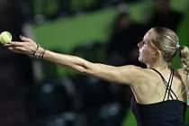 Nicole Vaidišová na turnaji v Monterrey