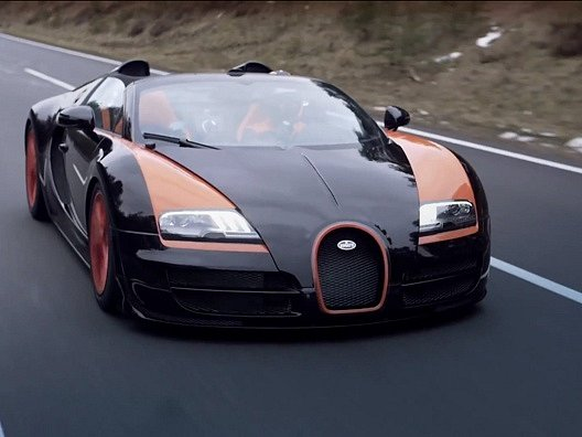 Rekordní Bugatti Veyron