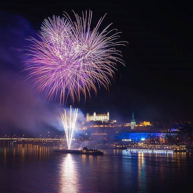 Novoroční oslavy v Bratislavě