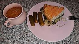 Soňa Ponocná Mazánková - polévka z červené čočky a oblíbené špagety se špenátem