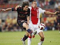 Ajax Amsterdam - Arsenal: Heitinga a Rosický