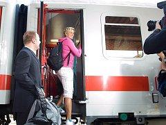 Oštěpařka Barbora Špotáková odjížděla do Berlína na světový šampionát v dobré náladě.