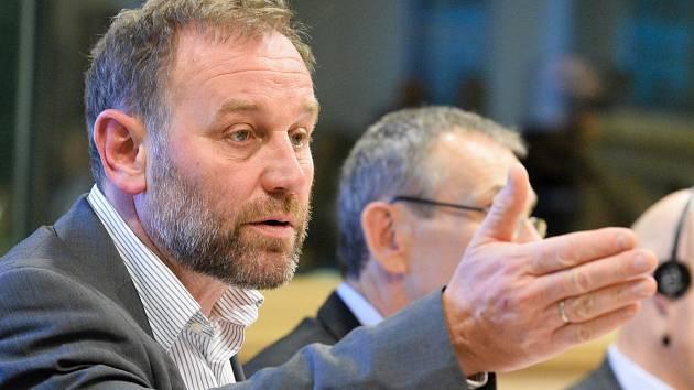 Belgický europoslanec Bart Staes