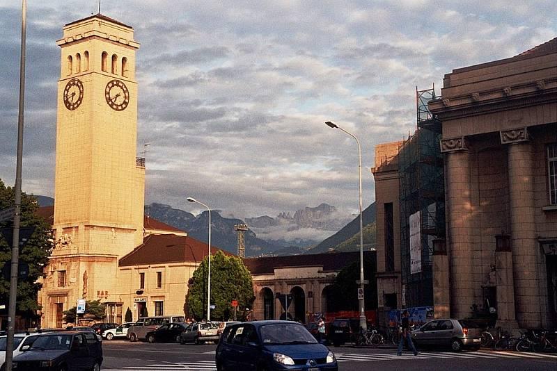 Město Bolzano, v němž vrah Marco Bergamo nejčastěji operoval