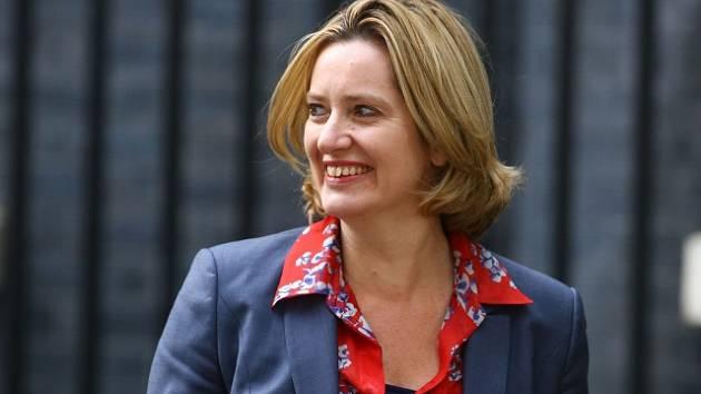 Britská ministryně vnitra Amber Ruddová