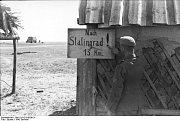 Německý voják před Stalingradem