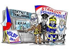 Vtip Milana Kounovského. Zvyšování platů v Česku