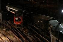 Nehoda vlaku Eurocity v Německu.