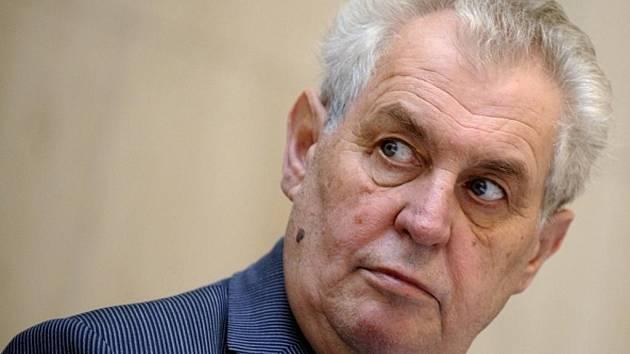 Miloš Zeman bude kandidovat na funkci prezidenta České republiky.