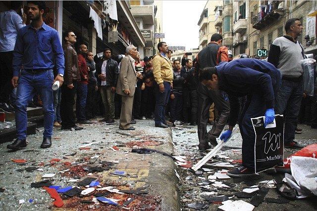 Útok v Egyptě na Koptský kostel