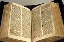 Nejvzácnějším a nejstarším exemplářem Městské knihovny v Praze je prvotisk Pražské bible z roku 1488.