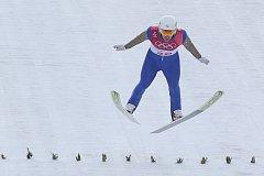 Tomáš Portyk na olympijských hrách v Pchjongčchangu.